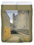 Castle Interior Ground France Duvet Cover