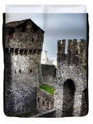 Castle Duvet Cover by Joana Kruse