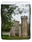 Castle Near Upper Lake Kilarney Irelnad Duvet Cover