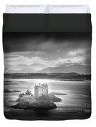 Castle Stalker Duvet Cover by Simon Marsden