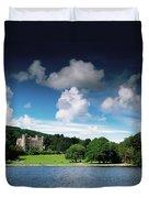 Castlewellan Castle & Lake, Co Down Duvet Cover
