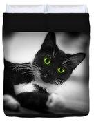 Cat Eyes Duvet Cover