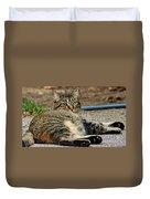 Cat Nap Interuption Duvet Cover