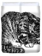 Cat-tabby-posters-1 Duvet Cover