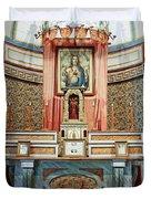 Cataldo Mission Altar - Idaho State Duvet Cover