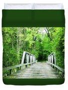Catalpa Plantation Bridge Duvet Cover