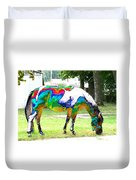 Catch A Painted Pony Duvet Cover