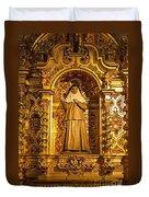 Cathedral De La Almudena Duvet Cover