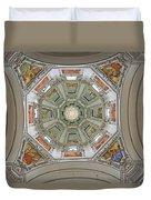 Cathedral Dome Interior, Close Up Duvet Cover