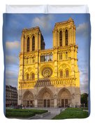 Cathedral Notre Dame Duvet Cover