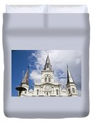 Cathedral Of Saint Louis Duvet Cover