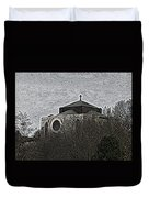 Cathedral On The Hill Duvet Cover