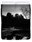 Cathedral Rock Sunrise Sedona Arizona Duvet Cover