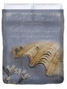 Catspaw Seashell Duvet Cover