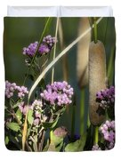 Cattails  Duvet Cover