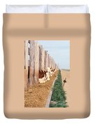 Cattle Feeding Duvet Cover