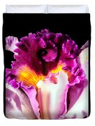 Cattleya II Duvet Cover by Christopher Holmes