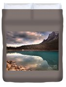 Caught In Reflections Duvet Cover