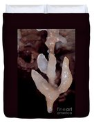 Cave Formation Dripping Duvet Cover