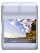 Cave Rock - Lake Tahoe Duvet Cover