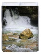 Cave Water Fall Duvet Cover