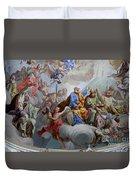 Ceiling Fresco - Karls Church Duvet Cover