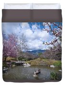 Celebrating Spring Duvet Cover