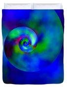 Celestial Nautilus Duvet Cover