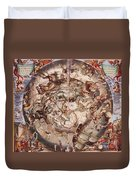 Cellariuss Constellations, 1660 Duvet Cover