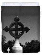 Celtic Cross- Natchez Mississippi Duvet Cover