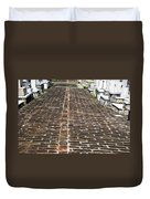 Cemetary Path Duvet Cover