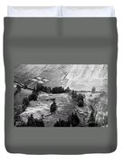 Cemetery And Pastures Duvet Cover