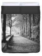Cemetery At Ypres  Duvet Cover