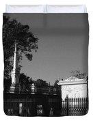 Cemetery- Natchez Mississippi Duvet Cover