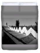Cemetery Spain Three Duvet Cover