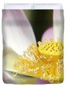 Center Of A Lotus Duvet Cover