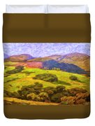 Central Coast Wine Country Duvet Cover