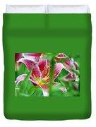 Central Park Lily Duvet Cover