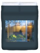 Central Park Reflections Duvet Cover