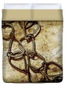 Chain Links Duvet Cover by Judi Bagwell