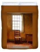 Chair Under Window Duvet Cover
