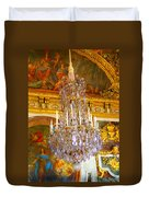 Chandelier At Versailles Duvet Cover