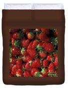 Chandler Strawberries Duvet Cover