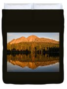 Chaos Crags Reflecting Duvet Cover