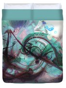 Chaos Duvet Cover by Linda Sannuti