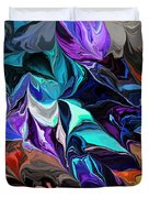 Chaotic Visions Duvet Cover