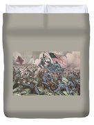Charge Of The 54th Massachusetts Duvet Cover