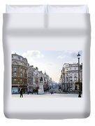 Charing Cross In London Duvet Cover