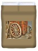 Chariot Wheel Duvet Cover
