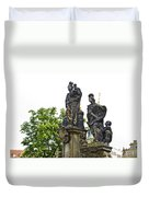 Charles Bridge - Prague Duvet Cover